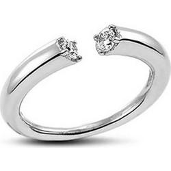 Δαχτυλίδι Vogue από συμπαγές ασήμι με ζιρκόν. 0210123 b50412ad9a9