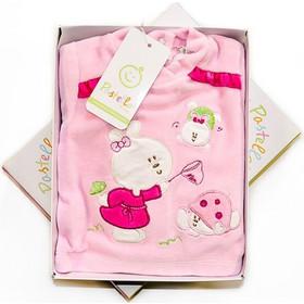 Pastello - Φορμάκι βελουτε Σετ Με Σχέδιο Λαγουδάκια Ροζ Βυσσινί 2303 e0240098307