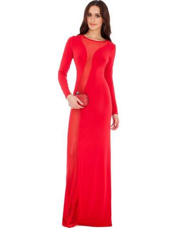 f6a4a57eba11 9069 GB Μάξι φόρεμα με διαφάνεια