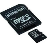 Kingston 32GB microSDHC Class 4 + Adapter
