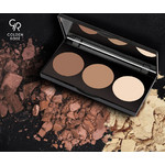 Golden Rose Contour Powder Kit 3x3.5gr