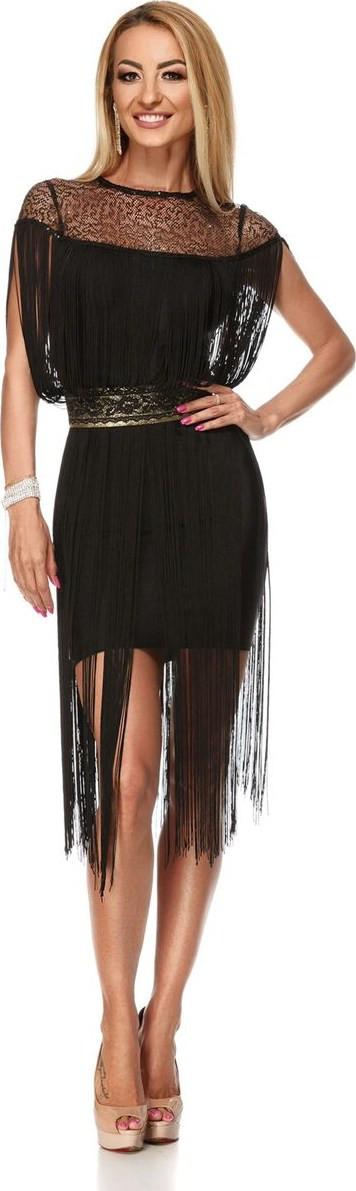 μαυρο φορεμα με κροσια - Φορέματα  9630ea1ef9a