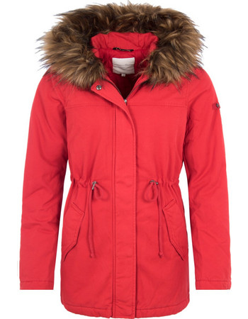 TOM TAILOR PADDED PARKA ΜΠΟΥΦΑΝ ΓΥΝΑΙΚΕΙΟ 1004101-12830 (12830 SAMBA RED) 574fbdf1121