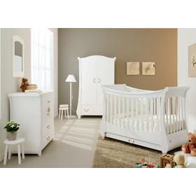 e4f0d8edb87 Παιδικό δωμάτιο κρεβάτι + συρταριέρα Bianco Tulip Pali και δώρο στρώμα  cocolatex antibacterial