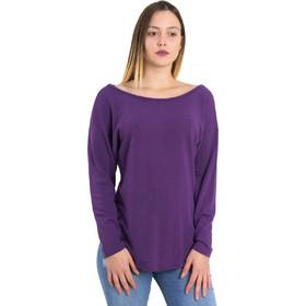 fd2c1ab79fe0 Γυναικεία μωβ μπλούζα χιαστί πλάτη Cocktail 014101032L
