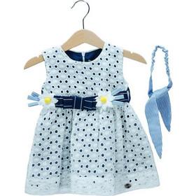 a0da3fb2cfe6 Βρεφικό Φόρεμα Εβίτα 198521 Εκρού Κορίτσι