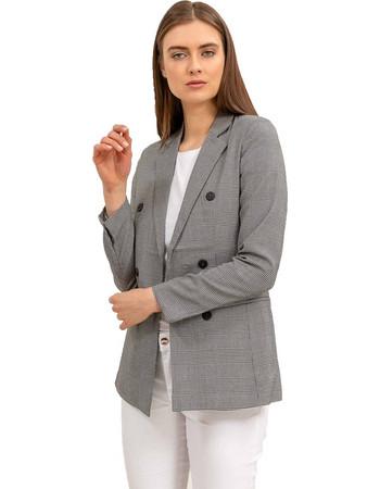 καρο σακακι γυναικειο - Γυναικεία Σακάκια  7bc12418b29