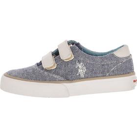 534a19dea82 Παιδικά Παπούτσια Casual Top.Boston Άσπρο Πάνινο U.S. Polo Assn