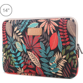 6cf8a1f158 Lisen 14 inch Sleeve Case Ethnic Style Multi-color Zipper Briefcase  Carrying Bag
