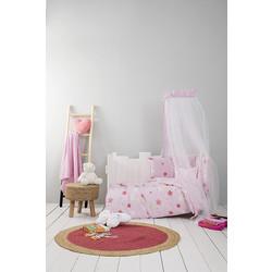 0f511a8bdaa Σεντόνια Κούνιας (Σετ) Nima - Baby Star Pink