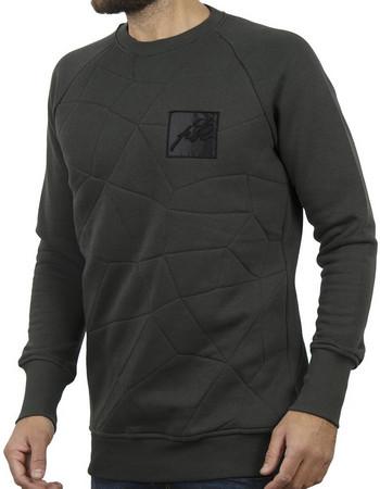 Ανδρικό Μπλούζα Φούτερ PONTE ROSSO NEEDLE 18-2046 Χακί a38bb13a8b0