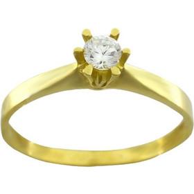 Δαχτυλίδι χρυσό 14 καράτια με πέτρες ζιργκόν 9b83cf296b2