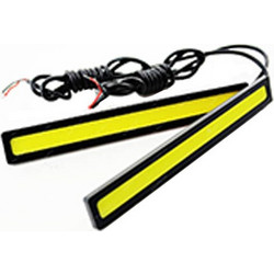 Φώτα Ημέρας Αυτοκινήτου Ultra Slim High Power 12W COB LED Daytime Running Lights - OEM