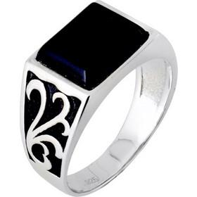 dbbf1d3716 Ασημένιο ανδρικό δαχτυλίδι 925 με όνυχα DSLA032A