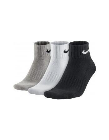 Nike Cushion Quarter Unisex Training Socks x 3 SX4926-901 cd4fe7f96a8
