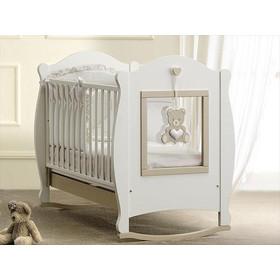 fd2f8641f72 Κρεβάτι Baby Italia Oliver White Dove Grey