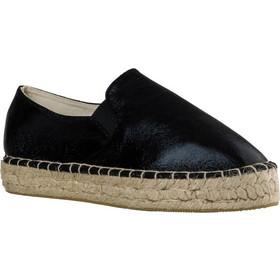 f7103a2dfe9 Γυναικεία Loafers από Ύφασμα της Smart Shoes Ύψους 4 cm Χρώμα Μαύρο κωδ.  S32-