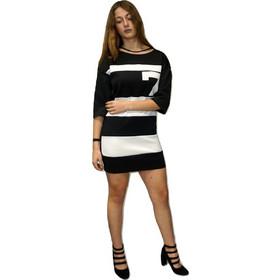 c65247702dae Φορεμα lynne 030-511031 Ασπρό-μαυρο Lynne