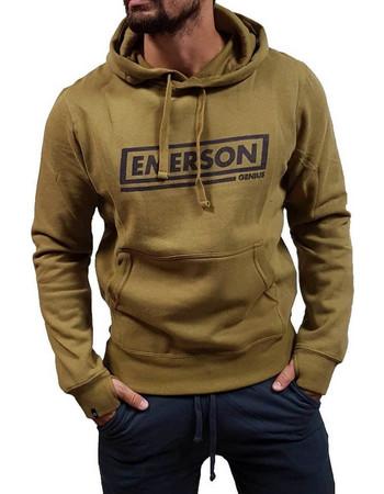 EMERSON MEN S HOODED SWEAT (182.EM20.42-MUSTARD) 5ce1fb33b5d