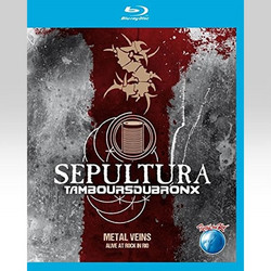 SEPULTURA WITH LES TAMBOURS DU BRONX: METAL VEINS - ROCK IN RIO (BLU-RAY) - IMPORTED / ΕΙΣΑΓΩΓΗΣ