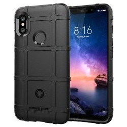9ad79cb1cd Xiaomi Redmi Note 6 Pro Θήκη Σιλικόνης Full Coverage Shockproof TPU Case  Silicone Black