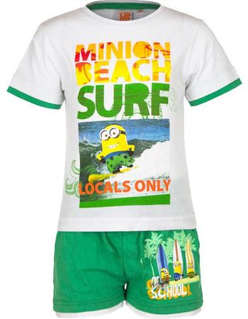 04808d2ffb3 Παιδικό Σετ Μπλούζα - Σορτς Χρώματος Πράσινο Minions Disney EP1028