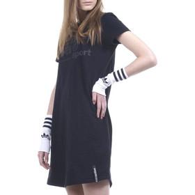 58125ab8d6f2 WOMEN SLIM LINE T-SHIRT DRESS ΜΑΥΡΟ (051927 BLACK-01)BODY ACTION