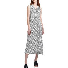 99e46cae7bc2 Attrattivo Φόρεμα Μίντι Αμάνικο 91040750-OFF WHITE