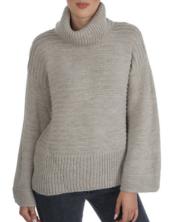 AGGEL KNITTED TURTLENECK SWEATER W18121 597be1d018a