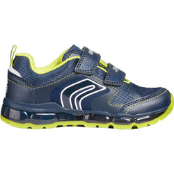 0cfbe44ee20 Geox παιδικά sneakers JR Android Boy - J8444A - Μπλε Σκούρο