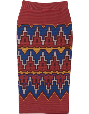 Desigual γυναικεία midi φούστα Τacna pencil - 18WWFK03 - Κόκκινο b94d0a18ce1