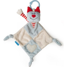 Taf Toys Clip on Cat Blankie RED Taf toys