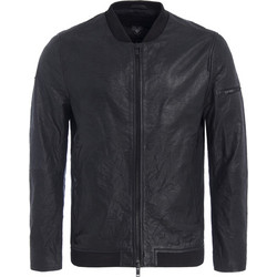 35a0ed6913a Superdry Washed Leather Bomber Jacket M50003APF1-02A
