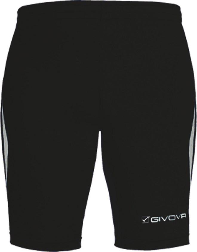 b07610b84901 Givova Running Short LR01-Black