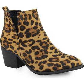λεοπαρ παπουτσια - Γυναικεία Μποτάκια με Τακούνι  f6f6744b630