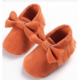 e6848209e03 Baby Girls Shoes First Walkers Newborn Baby Moccasins Soft Sole Non-slip  Footwear Shoes 13cm