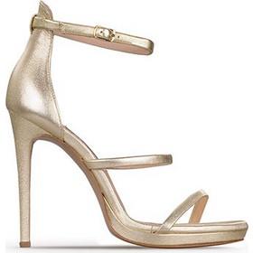 Πέδιλα High Heels γυναικεία Classico Donna Χρυσό S9006 SS18 369c3779680