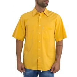 Ανδρικό κοντομάνικο πουκάμισο Levis κίτρινο 69356 85617bc68a2