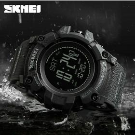 Ρολόι με πυξίδα χειρός ανδρικό SKMEI 1358 BLACK 846442a98d5