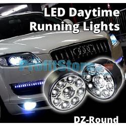 Στρογγυλά Προβολάκια LED DRL - Φώτα Ημέρας Αυτοκινήτου Σετ 2 τμχ 9ed97589daf