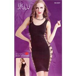 df6177d4a05 Σέξι Μίντι Φόρεμα με Σκισήματα στο Πλάι 8207 - Sexy Lingerie Bodystockings  - OEM