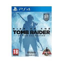 Rise of The Tomb Raider 20 Year Celebration Standard Edition - PS4