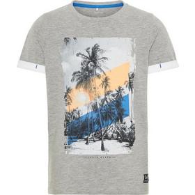 df111af24ee Name It Παιδικό T-shirt με print South Beach - 13162621 - Γκρι