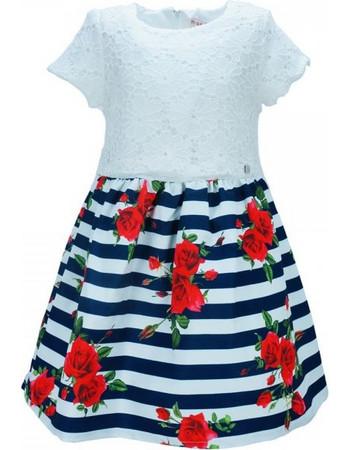 Παιδικό Φόρεμα Εβίτα 186027 Λευκό Κορίτσι 2c74b58d3dd