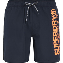 SUPERDRY D5 SD SPORTS VOLLEY SWIMSHORT ΜΑΓΙΩ ΑΝΔΡΙΚΟ M30003HQ-49P  (49P DARKEST NAVY 8e7bc6fe2eb