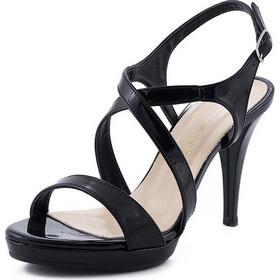 Γυναικεία Πέδιλα Stefania S832 Μαύρο Λουστρίνι Stefania bef825038f8
