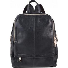 74c932f553 Τσάντα πλάτης γυναικεία μαύρη δερματίνη BP073 OEM