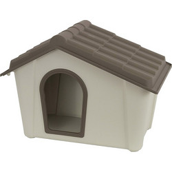 ARTPLAST ITALY Σπίτι Σκύλου 79x59x60.5cm Medium 6.5kg Μπεζ Καφέ 43baffce30f