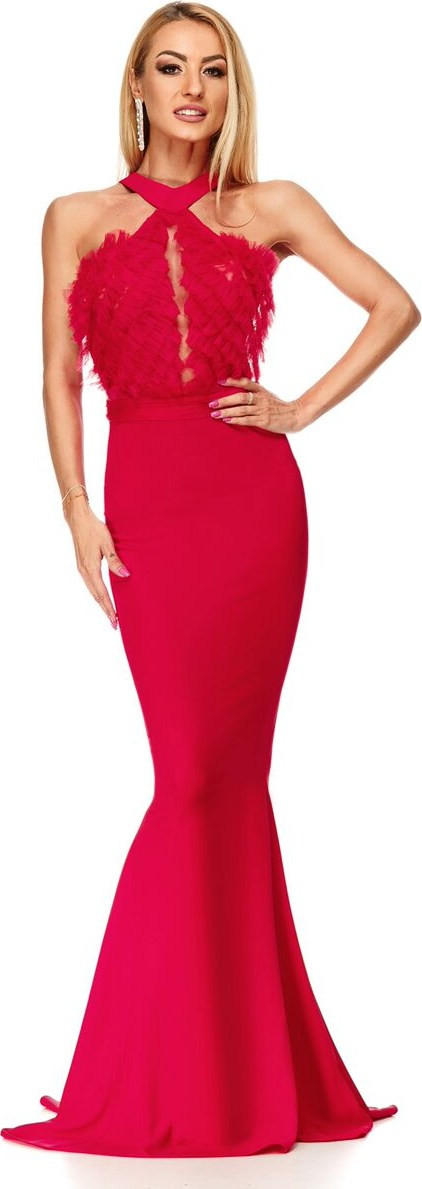 7ad2fd4e9c2e κοκκινο φορεμα γυναικα - Φορέματα Ro Fashion