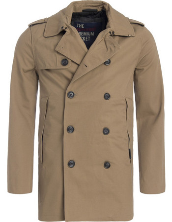 SUPERDRY REMASTERED ROGUE TRENCH ΚΑΠΑΡΝΤΙΝΑ ΑΝΔΡΙΚΗ M50012YP-BURNT UMBER  (BURNT UMBER) 59913857762